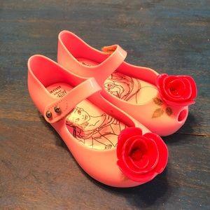 Mini Melissa Disney Beauty & The Beast Jelly Flats